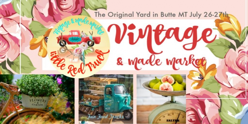 Little Red Truck's BUTTE Vintage and Artisan Market