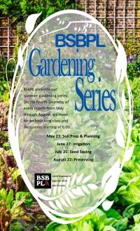 Gardening Series: Preserving