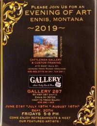An Evening of Art in Ennis MT 2019