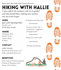 Hiking with Hallie