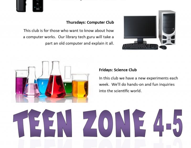 BSBPL Teen's Clubs: Science