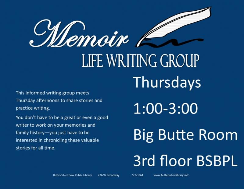 Life Writing: Memoirs