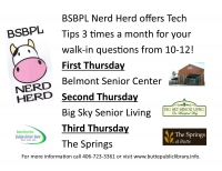 Tech Tips with BSBPL's Nerd Herd