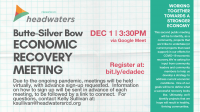 Butte-Silver Bow Economic Recovery December Meeting