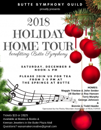 Butte Symphony Guild Holiday Home Tour