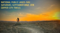 National Public Lands Day at Copper City