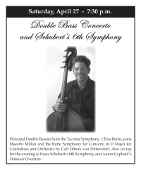 Butte Symphony in Concert featuring a Bass Concerto