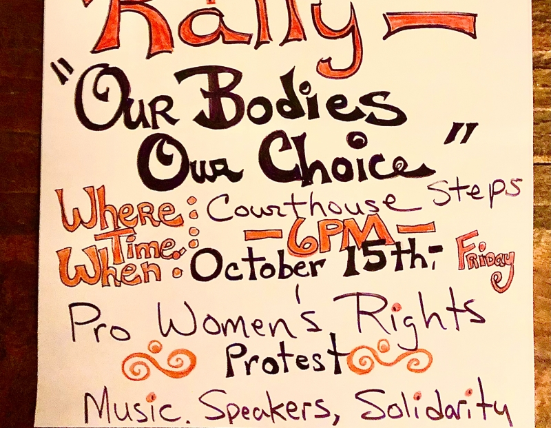 Wonen's Rally for Reproductive Rights