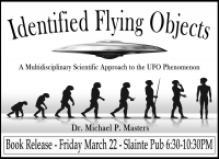 Book Release Party - Identified Flying Objects