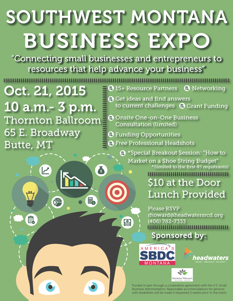 southwest montana business expo 10212015 butte montana