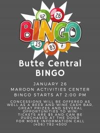 Butte Central Bingo