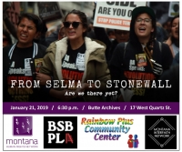 "MLK Day 2019: Screening ""From Selma to Stonewall"""