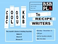 The Recipes Writers: BSBPL Cookbook club
