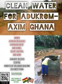 Clean Water for Ghana Fund Raiser