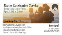 Butte Community Easter Celebration Service