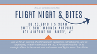 "Fly Butte Hosts ""Flight Night & Bites"""