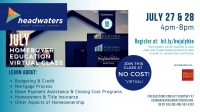 July First-Time Homebuyer's Education Class