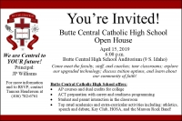 Butte Central Catholic High School Open House