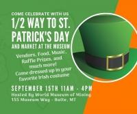 1/2 Way to St. Patrick's Day Celebration