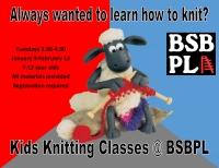 Kids Knitting Classes @BSBPL