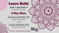 Learn Reiki I and II