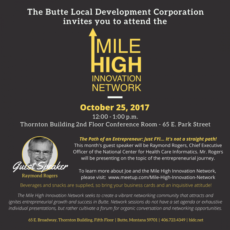 Mile high innovation network 10252017 butte thornton building mile high innovation network altavistaventures Image collections
