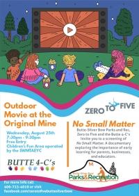 Outdoor Movie Night - No Small Matter