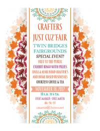 4th Annual - Crafters Just-Cuz' Fair