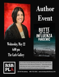 Janelle Oberding: Butte and the 1918 Influenza Pandemic