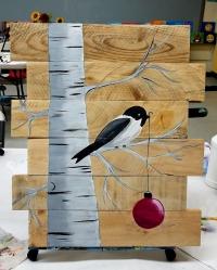 Wood Canvas Paint Party!