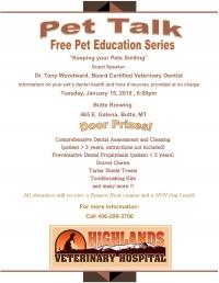 Pet Talk hosted by Highlands Veterinary Hospital