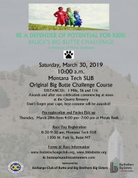 Bruce's Big Butte Challenge Race