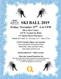 MILE HIGH NORDIC SKI BALL FUNDRAISER