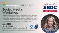 Social Media Workshop w/ Salt   Sage Web Studio