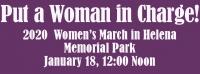 2020 Women's March in Helena