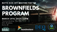 Brownfields Program Kick-off Meeting