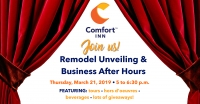 Business After Hours & Remodel Unveiling - Comfort Inn