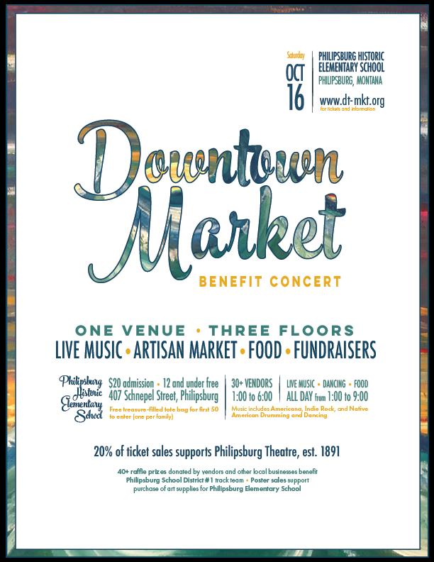 Downtown Market Benefit Concert