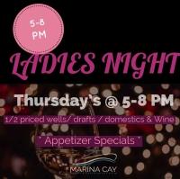 Ladies Night @ Marina Cay Lounge