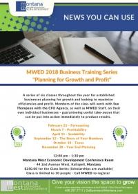 MWED 2018 Training
