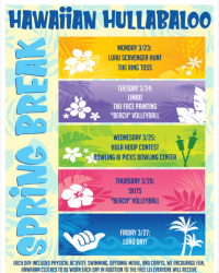 Spring Break Camp- Hawaiian Hullabaloo