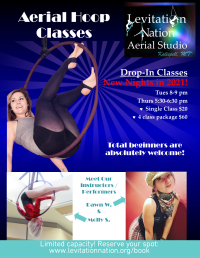 Aerial Hoop Fitness Classes for Total Beginners