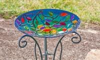 Fused Glass Class: Garden Art Bird Bath