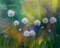 Dandelion Frenzy - Tipsy Brush Painting Party!