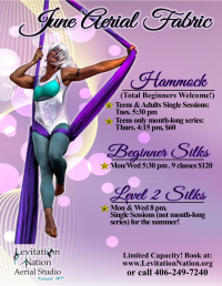 Cirque Fitness: Aerial Hammock for Total Beginners