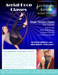 Cirque Fitness: Aerial Hoop for Total Beginners