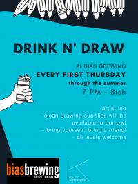 Drink n' Draw at Bias Brewing