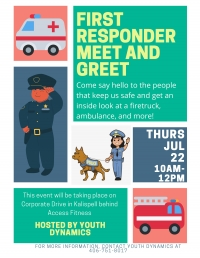 Free Family Event! First Responder Meet and Greet