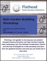 Rain Garden Building Workshop