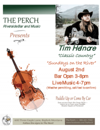 Sundays on the River at The Perch Summer Concert Series
